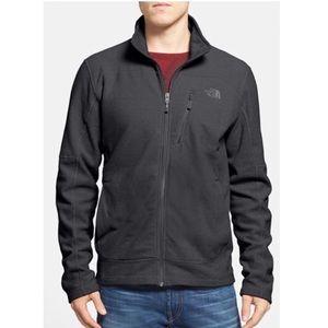 NORTHFACE Mens Texture Cap Rock Fleece in Charcoal